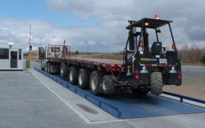 Balances à camion DURABIM, hors terre, encastrée, portative, à essieux